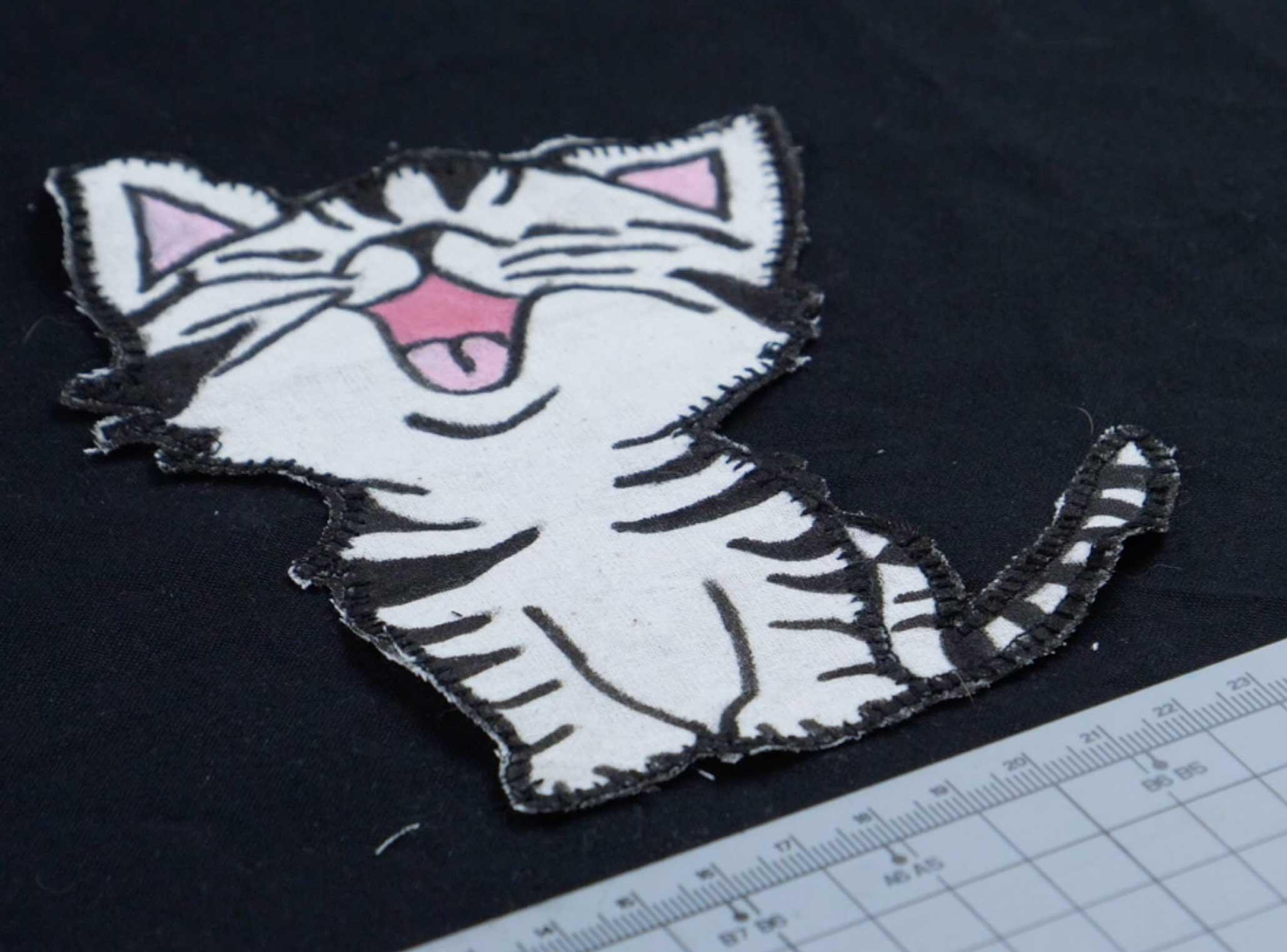Katzenapplikation selber machen